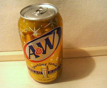 A&Wのクリームソーダ