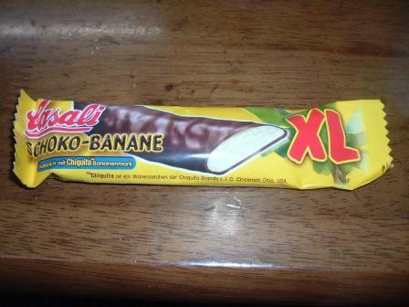 バナナチョコ菓子