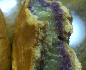 横浜月餅、紫 焼芋あん