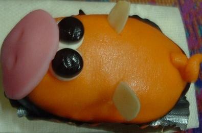 パルファンのブタケーキ