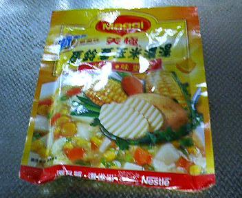 ジャガイモコーンスープ