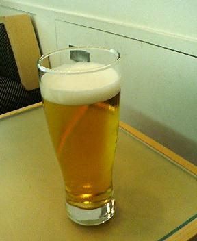 新千歳空港signetのビール