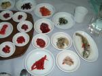 江景で塩辛定食