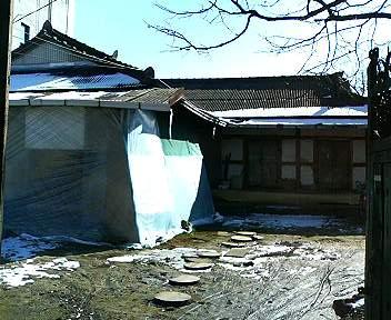 江景の日本家屋