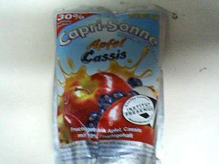 カプリソーネアップル&カシス