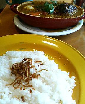 野菜とハンバーグのカリーシチュースリランカ風