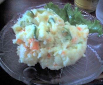 麻釉のポテトサラダ