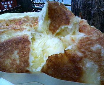 南大門市場のチーズホットク