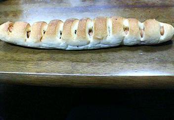 サンマルクのソーセージパン