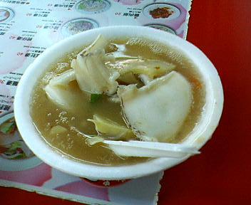 炒花枝羹(いかスープ)