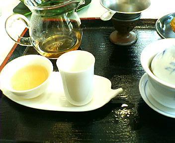 茶房翡翠のお茶