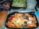 UA台北行機内食