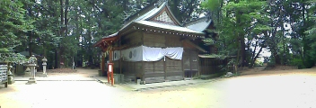 天之日津久神社全体