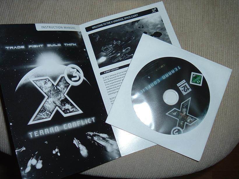X3 Cd and Manual