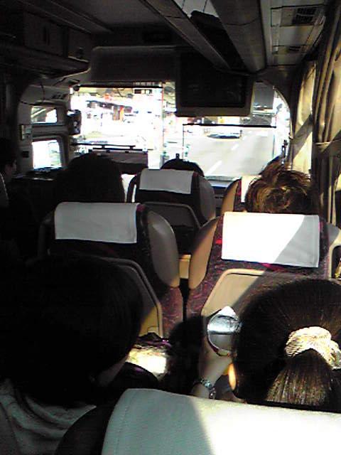 遠足☆行きのバスの中