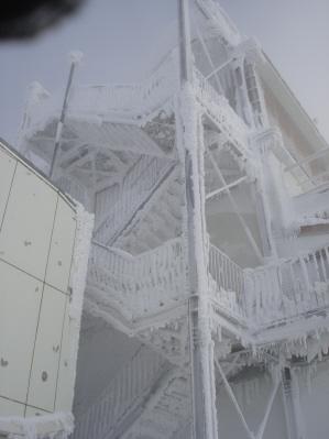 横津のレーダー基地