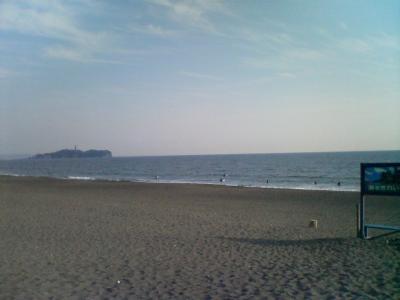 2月22日の湘南の波