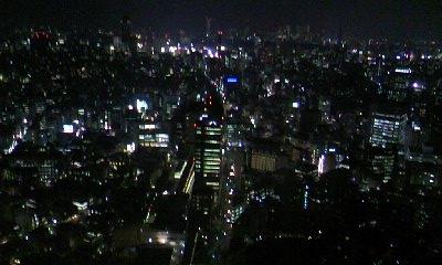 恵比寿の夜景0416