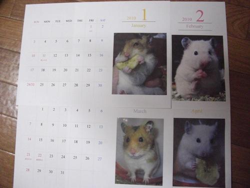 2010カレンダー♪