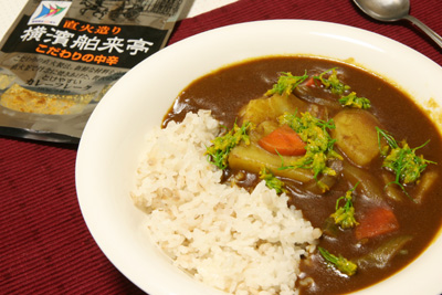 菜の花野菜カレー