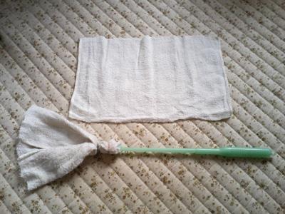 棒付雑巾1