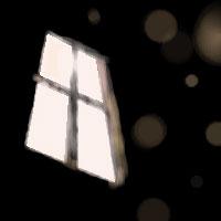 窓が割れてまぁどうしよう。