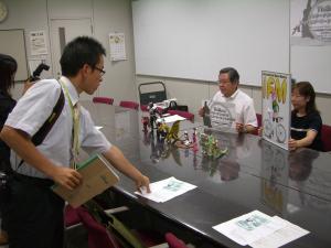 記者会見2008