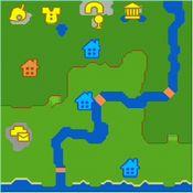 イーハトーヴ村の地図