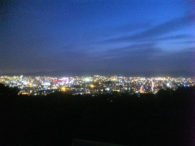 京都将軍塚夜景