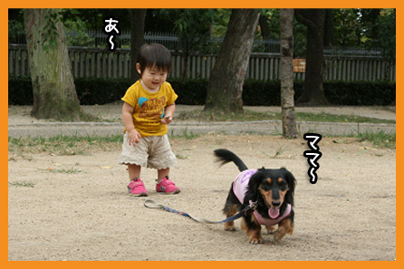 2009 08 31 モモカ誕生日 blog04のコピー
