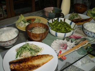 晩御飯20080817