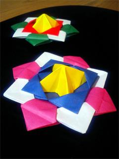 折り紙こま