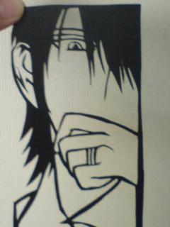 雲平・帷・デュランダル(切り絵)2