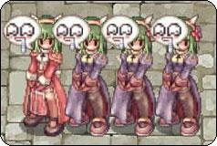 緑ロング姉妹