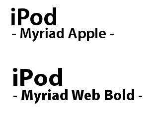 Myriad見本