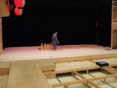 舞台へ移動