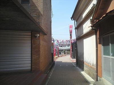 弁天座の路地