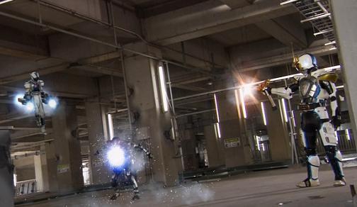 仮面ライダーイクサ バーストモード