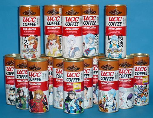 UCCコーヒー ミルク&コーヒー ヱヴァ缶