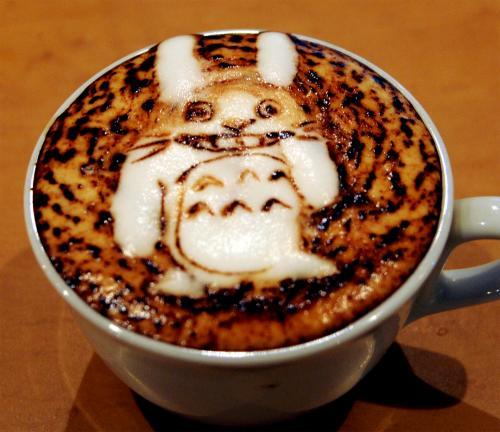 コーヒーアートトトロ