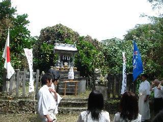 テニアン神社奉告祭