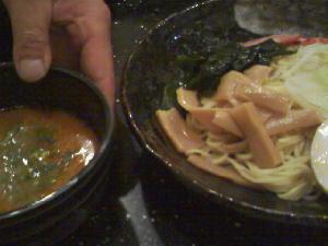 ペリカンのつけ麺