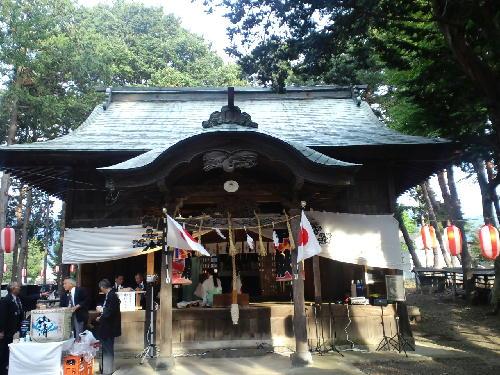 正一位諏訪神社