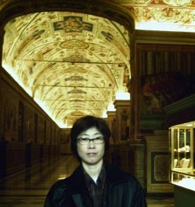 ヴァチカン博物館で