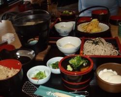 京都で昼食
