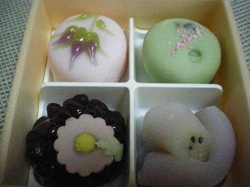 「福住」さんの秋の生菓子