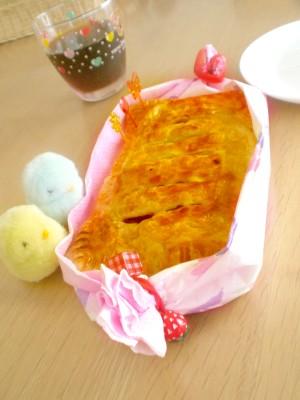秋のかぼちゃパイ