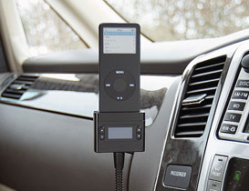 FM Transmitter with Memory for iPod nano