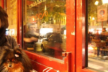 パリ-ブルジョア通り-カフェ1
