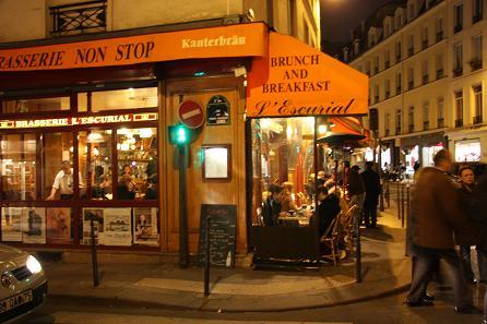 パリ-ブルジョア通り-カフェ2